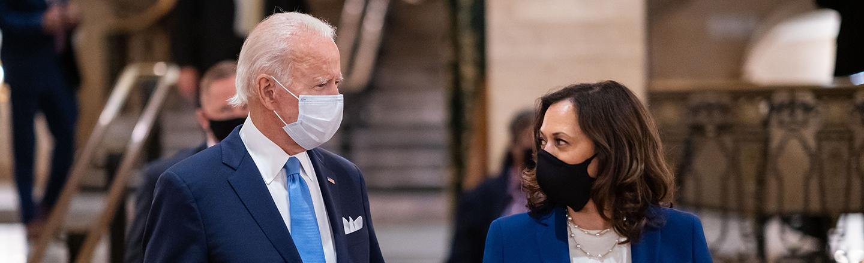 President Biden and Vice President Harris
